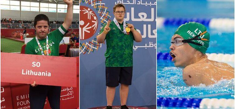 Pagerinti rekordai, įveiktos kliūtys ir Abu Dabio karštis – Lietuvos sportininkų istorijos specialiosiose olimpinėse žaidynėse