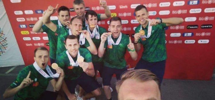 Specialiosiose žaidynėse – Lietuvos futbolininkų ir plaukiko auksinis triumfas