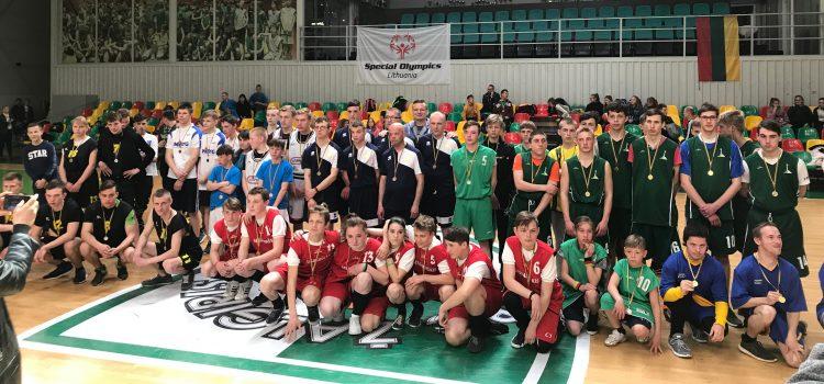 Lietuvos specialiosios olimpiados žymios negalios krepšinio testų ir vaikinų 5×5 krepšinio čempionatas