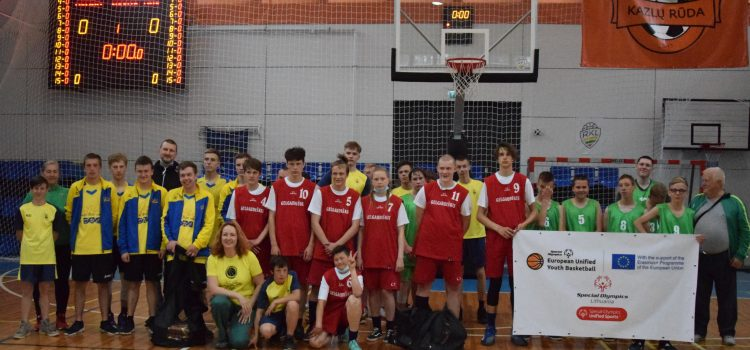 Specialiosios olimpiados Europos jungtinio krepšinio jaunių turnyras