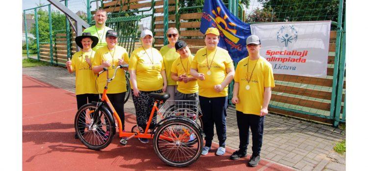 LSOK žymaus intelekto sutrikimo dviračių-triračių čempionatas
