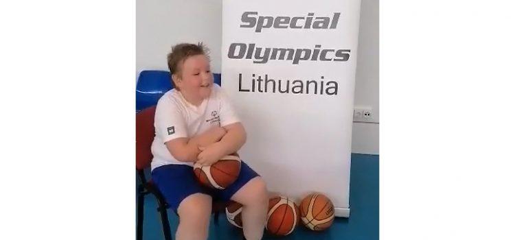 Justinas, Norway Grant projekto sportininkas