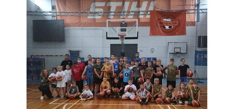 Norway Grant projekto Vaikų vasaros krepšinio stovykla