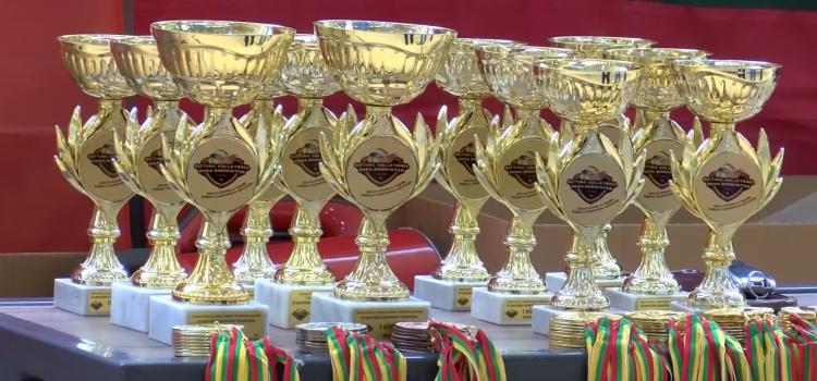 LSOK sportininkai Lietuvos specialiojo badmintono čempionate