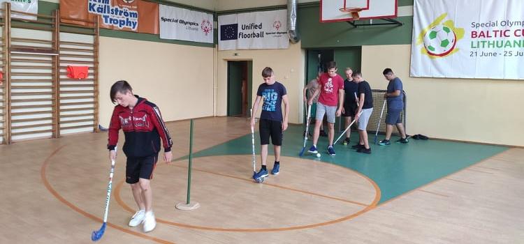 LSOK Grindų riedulio komanda ruošiasi SO Pasaulio žiemos žaidynėms